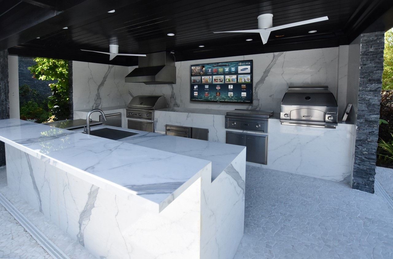 Boca Raton - Outdoor Kitchen