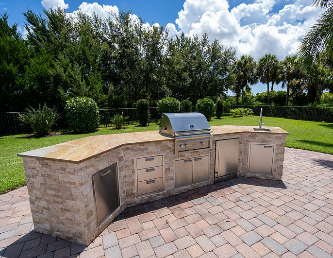 Jupiter Outdoor Kitchen