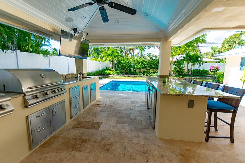Boca Raton Outdoor Kitchen