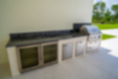 Custom Outdoor Kitchen Delray