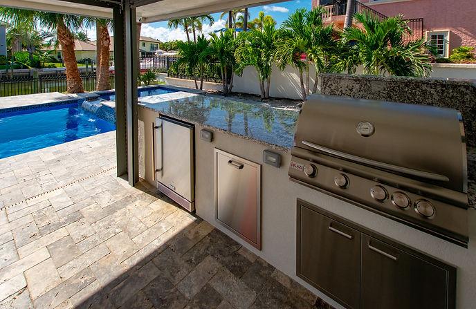 Custom Outdoor Kitchen Delray