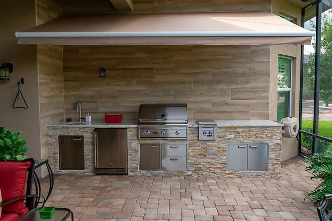 Custom Outdoor Kitchen Tequesta
