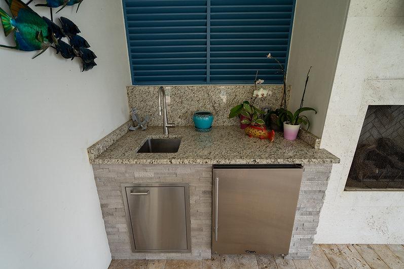 Palm Beach Gardens Outdoor Kitchen