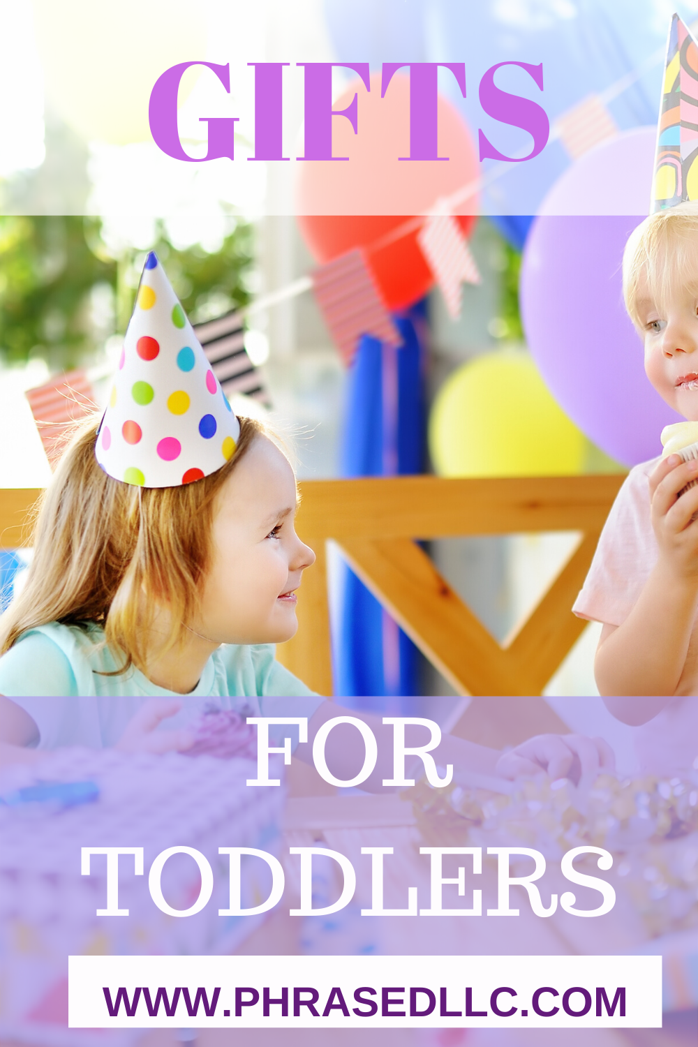 Toddler gift ideas that are unqiue and perfect for toddlers with everything. Toy and non toy options that are perfect for use indoor and outdoor. Makes great birthday, Christmas, Easter and other special events' gifts.