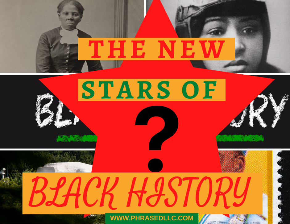 Here's a unique black history lesson for kids to help them identify the new upcoming stars of Black History.