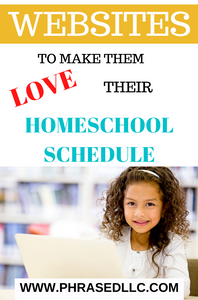 The best online learning resources and websites to make children love their homeschool schedule. (Girl on laptop smiling)