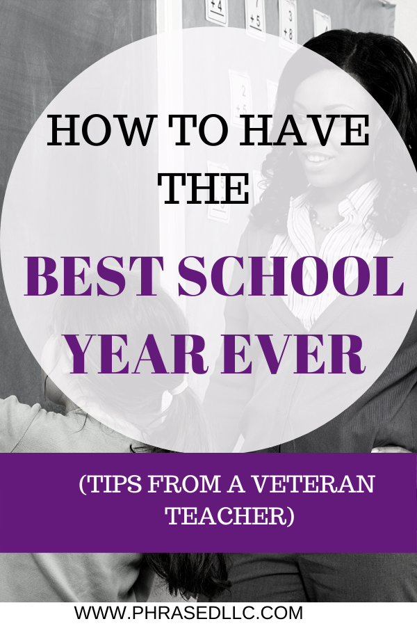 15 teacher tips and ideas to have the best school year.