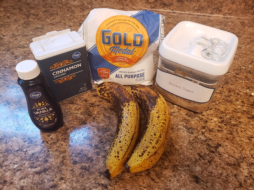 The 5 ingredients you need to make delicious and easy Jamaican banana fritters.