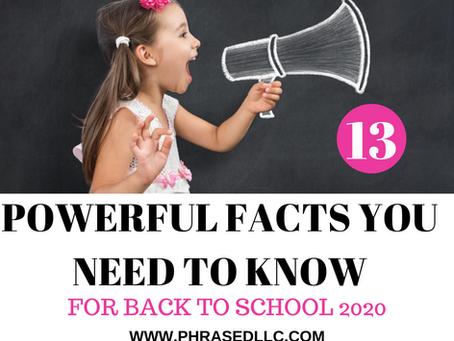 13 Powerful Facts You Need to Know for Back to School 2020