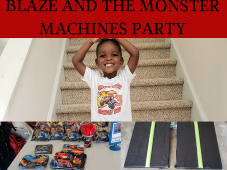 7 Easy Steps to the Most Amazing Blaze and the Monster Machines Party