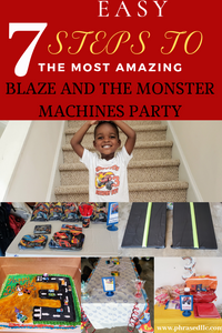 Blaze birthday ideas and seven easy steps to hosting the most amazing Blaze and the Monster Machines party