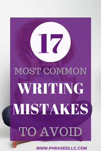 Most Common Writing Mistakes to avoid on websites and blogs to increase your SEO and gain more business
