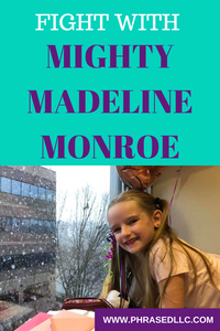 Help our tiny warrior, Mighty Madeline Monroe, fight back against an inoperable childhood brain tumor with your prayers and donations.