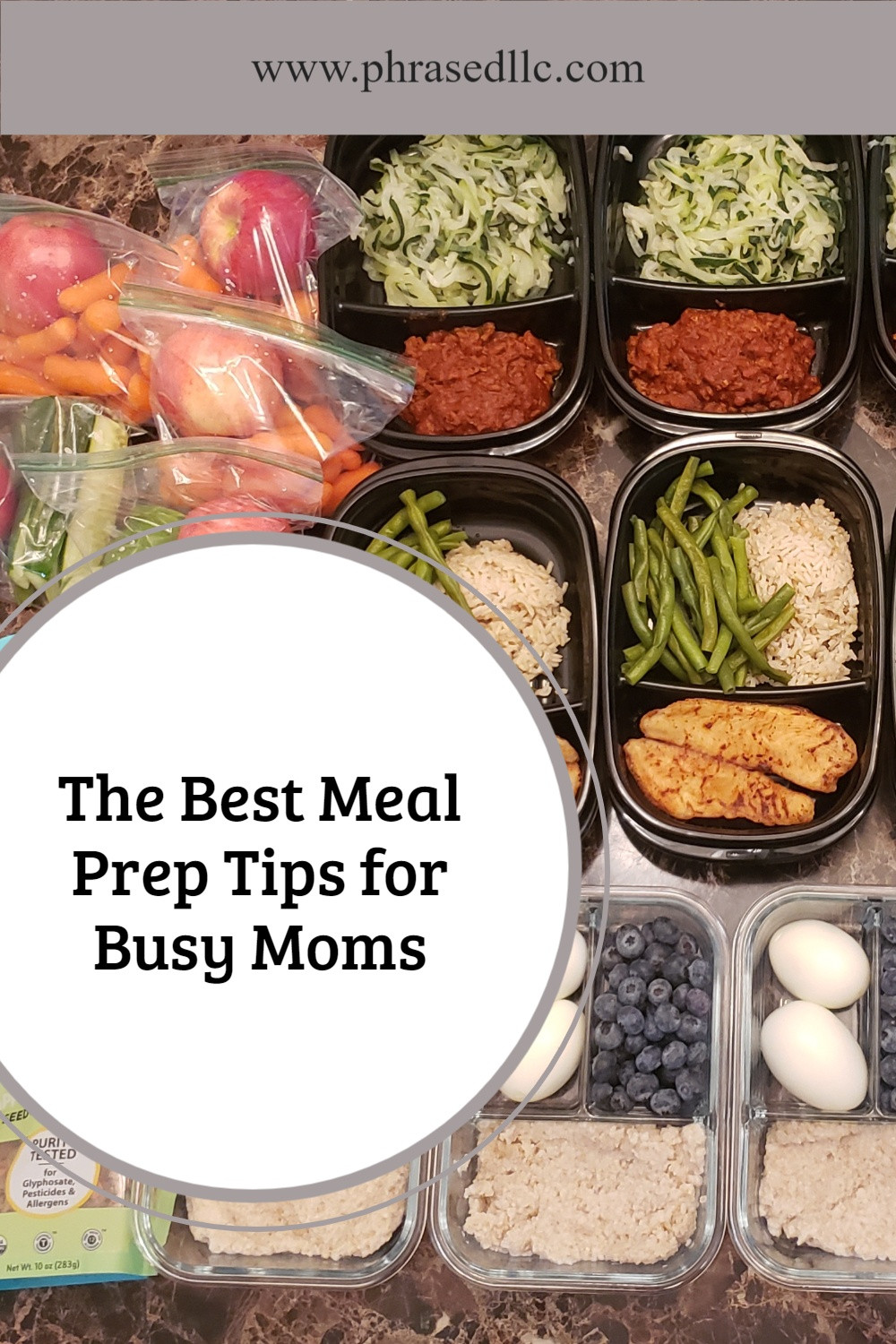 17 of the best meal prep tips that busy moms can use to get healthier and stay that way.