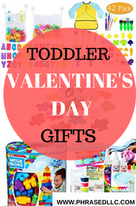 Gift ideas for toddler valentine baskets.
