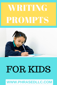 Writing prompts for kids that can be used for daily writing prompts in fantasy, fiction and creative writing. Funny writing prompts