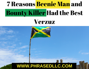 Beenie Man and Bounty Killer, two of dancehall's greatest musicians gave us the best Verzuz Battle and here are 7 reasons why.