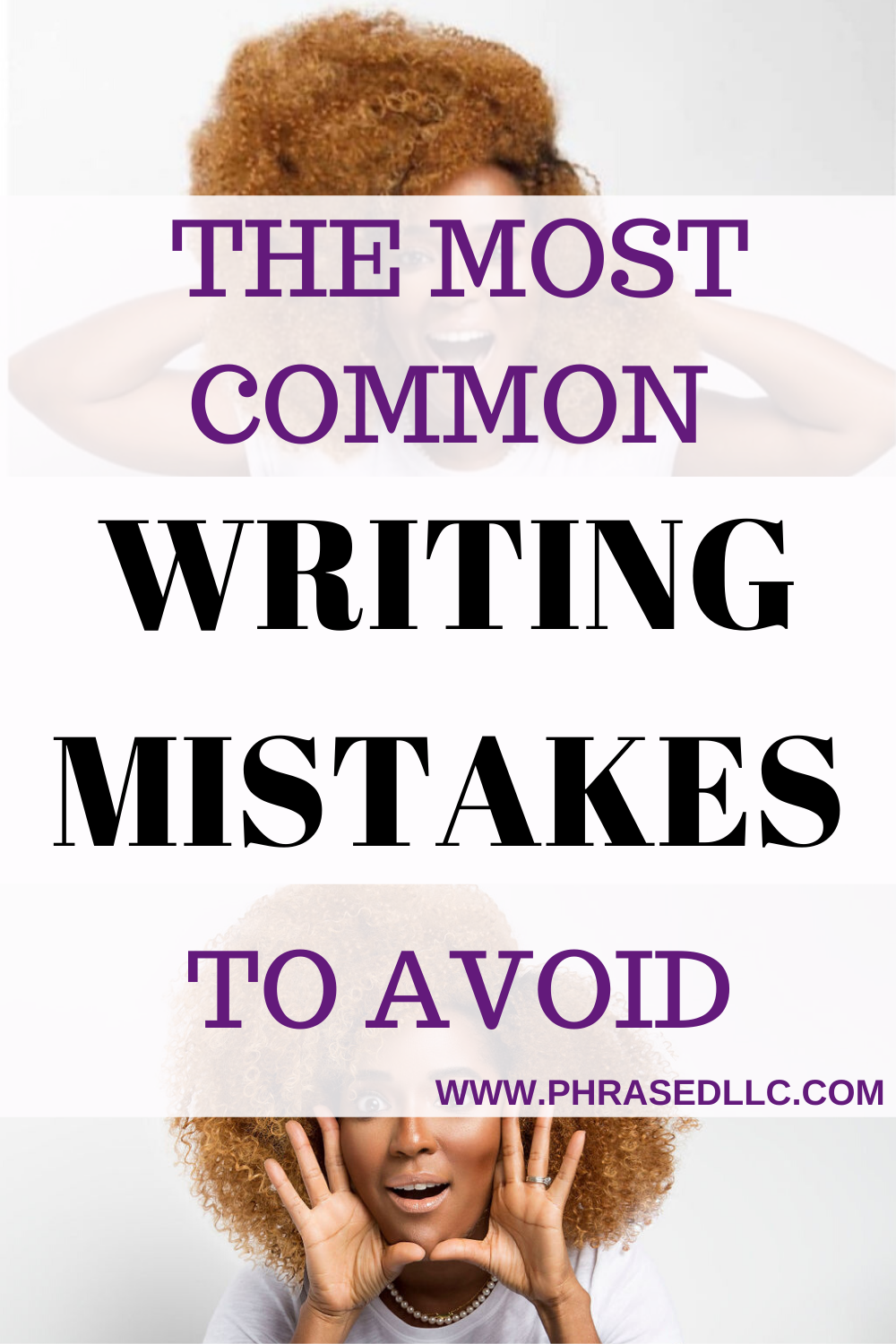 Avoid these common website and blog writing mistakes to present a trustworthy product or service to your audience. Edit your content often to avoid these common writing mistakes.