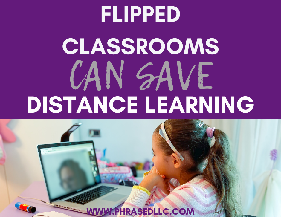 Flipped classrooms may be the solution to the problem of distance learning. Help families work on their own schedule and provide what students need to be successful.