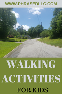 Walking activities, ideas and games for toddlers, preschoolers and kids. Tips on the benefits of walking and how to get your child to walk with you.