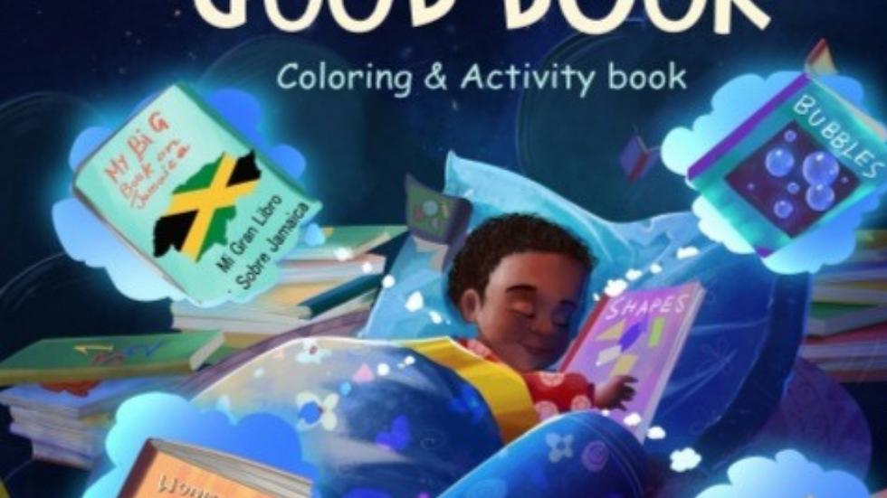 I Love a Good Book Coloring/Activity Book
