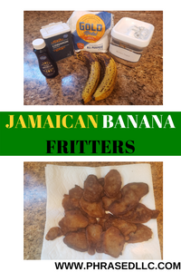 Make this easy Jamaican breakfast with 4 ingredients you have on hand and the over ripe bananas you don't know what to do with.