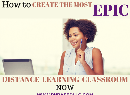 How to Create the Most Epic Distance Learning Classroom Now