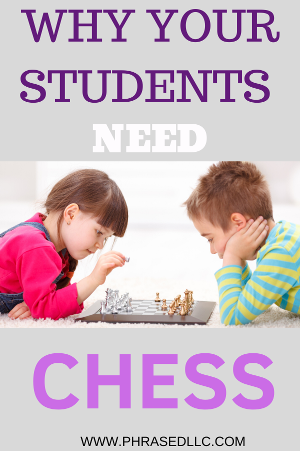 How and why you need to start a chess club. Chess club description: Chess can help students learn key skills in STEM such as problem solving.