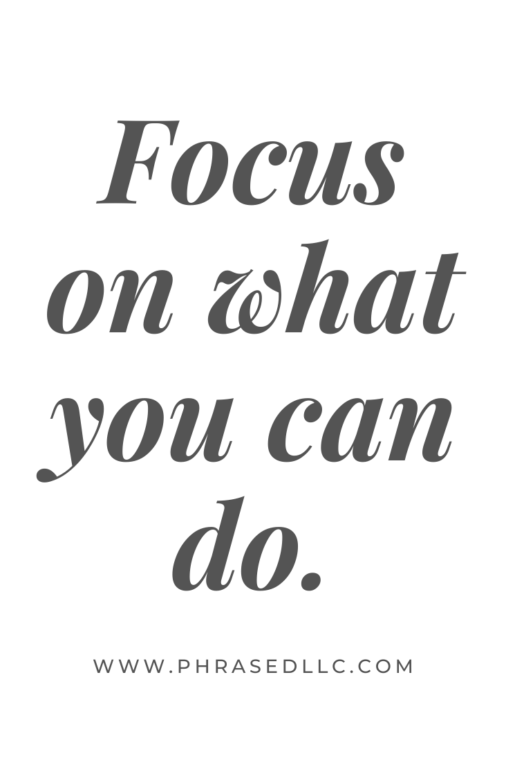 Short inspirational quote on using focus to succeed.