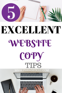 Website copy tips to help you create interesting and useful content to generate traffic.