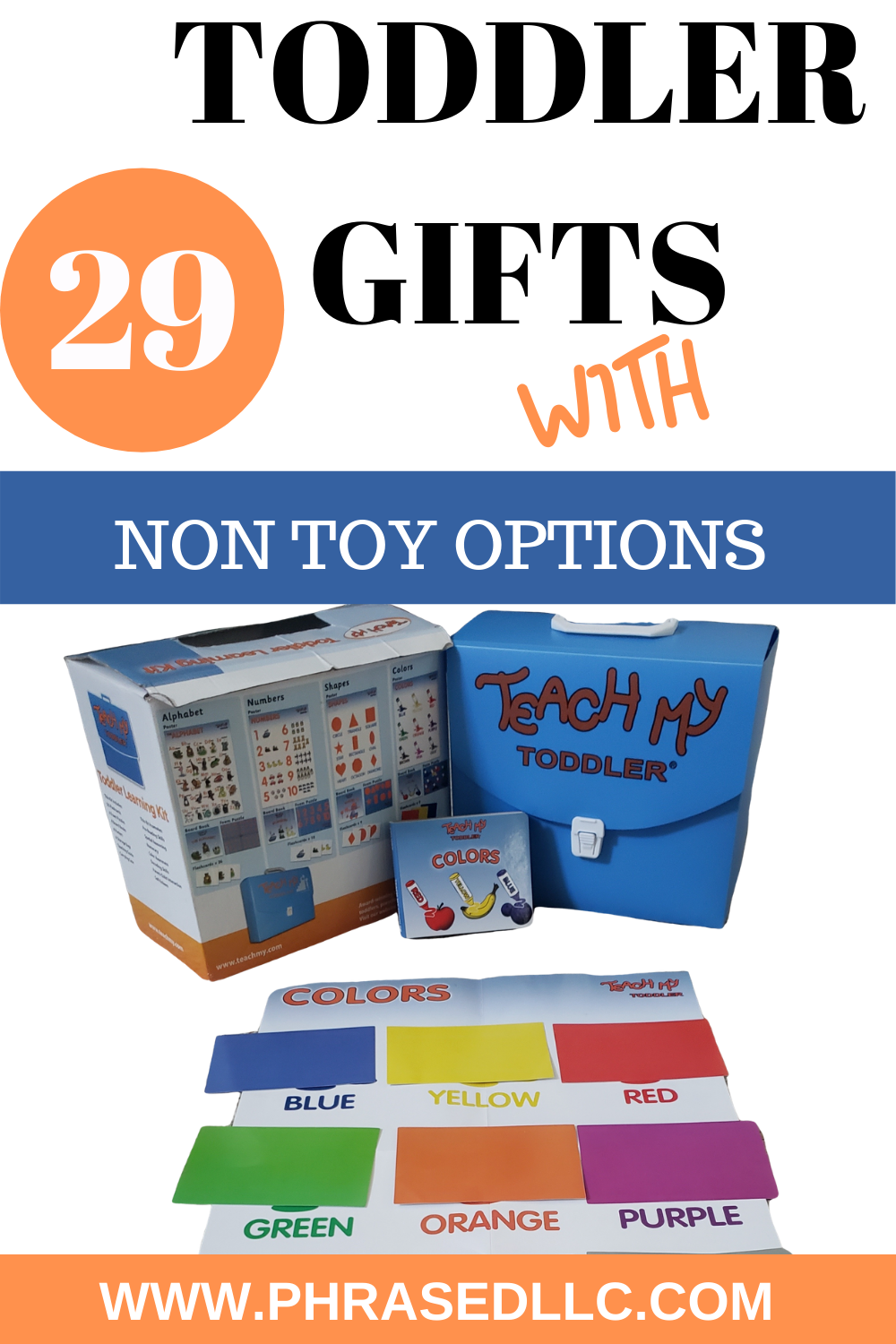 Looking for toddler gift ideas that are not toys and won't break the bank? Here are 29 of the best toddler gift ideas including indoor, outdoor, toy and non toy options.