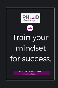 cute short inspirational quote To develop a successful mindset, you will need to train your mind.