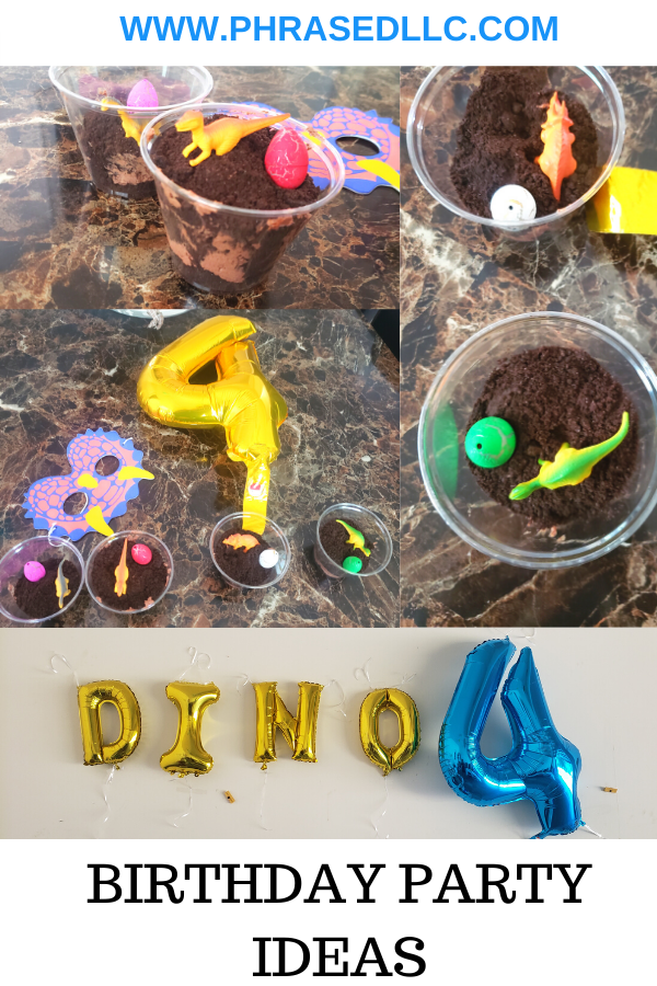 Dinofour birthday party for the perfect dinosaur birthday party with dino four tshirt, dinosaur birthday invitations and more.