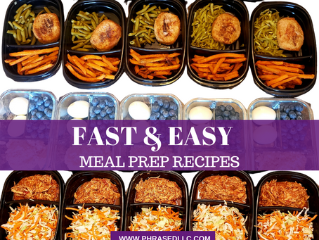 8 of the Best, Fast and Easy Meal Prep Recipes to Save Moms