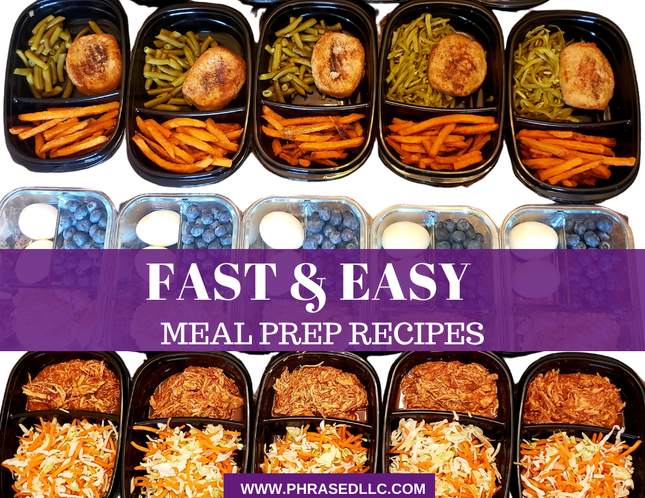 8 Fast and easy meal prep recipes to help you achieve and maintain your fitness goals.
