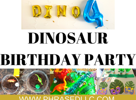 5 Ways How to Have the Best Dinofour Birthday