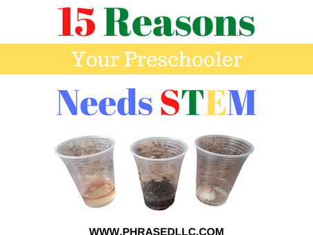 Your Preschooler Needs Stem Now: 15 + Amazing Reasons