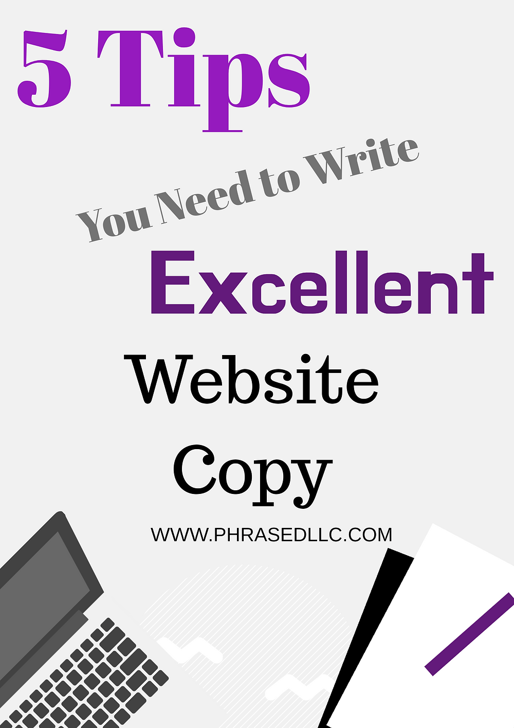 Website copy tips to help improve your website copy writing