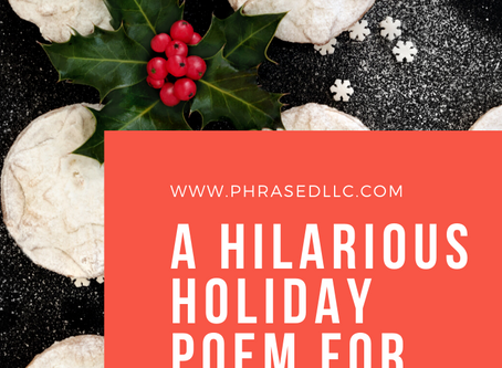 T'was Minutes After the Feast (a holiday poem for teachers)