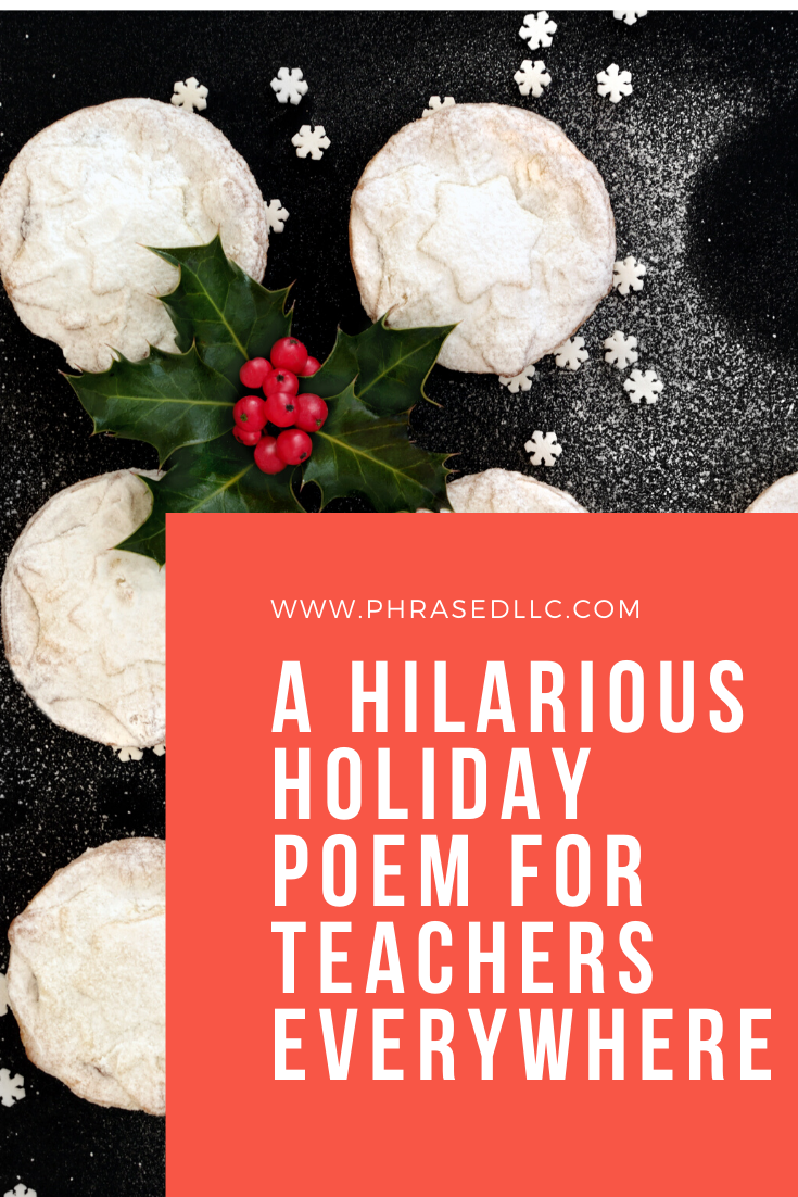 Make a teacher smile with this hilariously funny teacher poem about what happens after eating at potlucks.