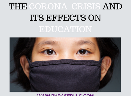 Startling Facts on the Corona Crisis and its Effects on Education