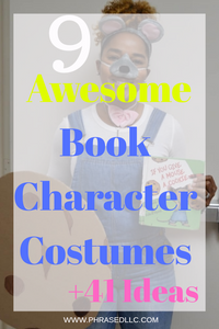 50 simple teacher story book character costume ideas that can be used for boys and girls. Book character that wear normal clothes and can be made from your closet.