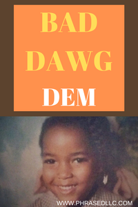 Learn about Jamaican culture, values, beliefs and cultural words in Bad Dawg Dem, a story of my run in with some bad dawg on my way to school.