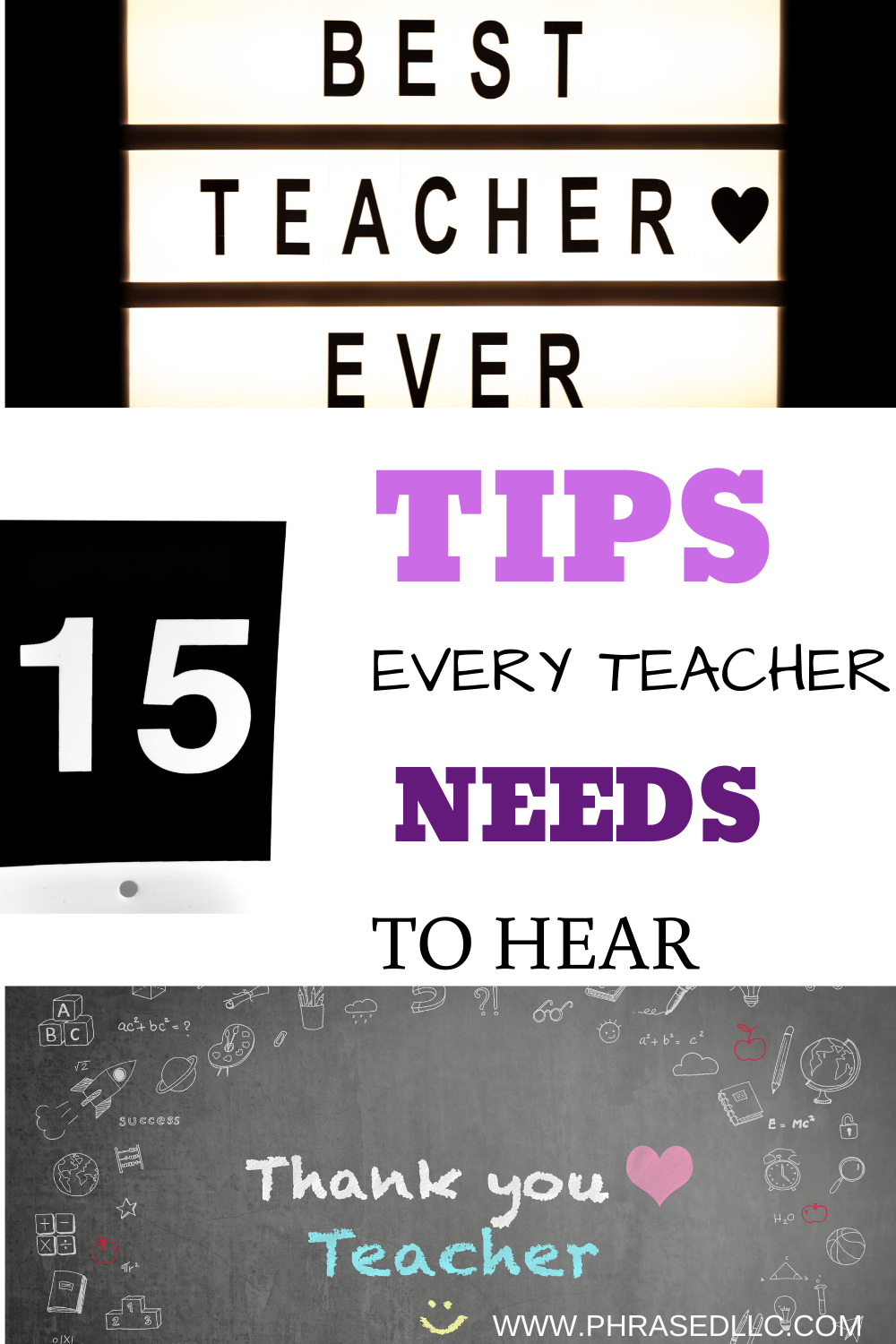 Be the best teacher ever for yourself and your students with tips to help with classroom setup and organization, activities, teaching style and more.