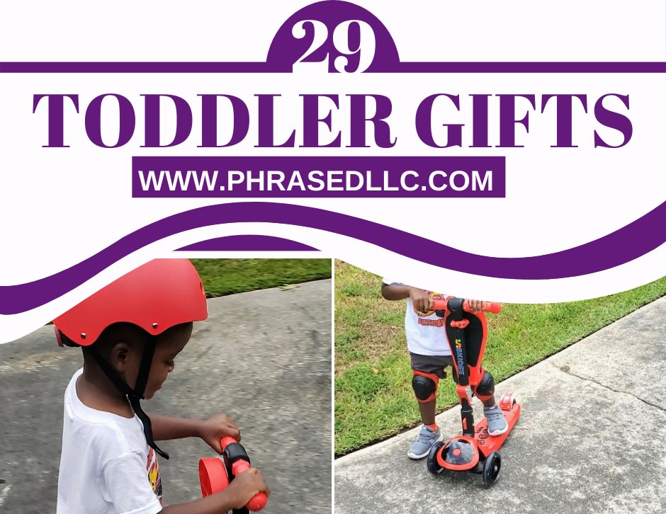 Best and unique combination of toddler gifts that can be used for birthdays, easter, valentines day and Christmas that include non toys options and fun learning activities.