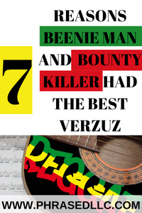 Here are the 7 reasons that Beenie Man and Bounty Killer had the best Verzuz Battle.
