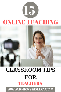 Online teaching classroom tips for teachers who are struggling during this learn from home and social distancing time