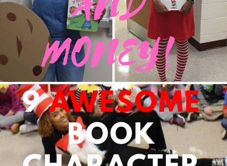 Save Time and Money (9 Awesome DIY Book Character Costumes +41 Ideas )