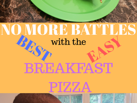 No More Battles with the Best, Easy Breakfast Pizza