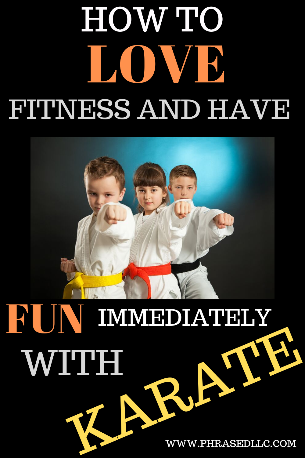 Learn how to love fitness and have fun immediately with karate at OKS Macon